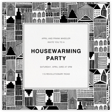 Onnea - Marimekko - Housewarming party invitations