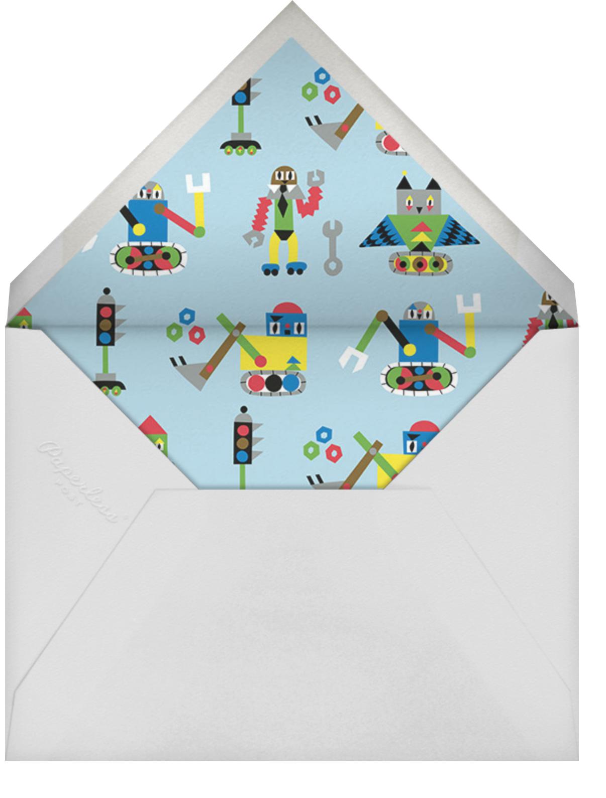 Jakari - Marimekko - Kids' birthday - envelope back