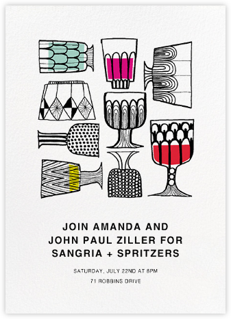 Kippis (Tall) - Marimekko - Dinner party invitations