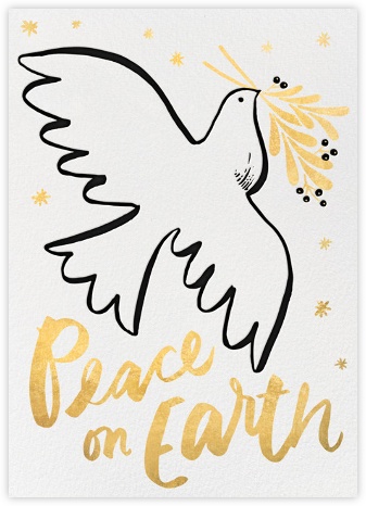 Dove of Peace - Hello!Lucky - Holiday Cards