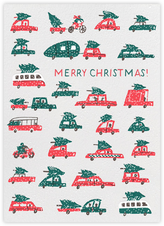 Christmas Tree Traffic - Hello!Lucky - Hello!Lucky Cards