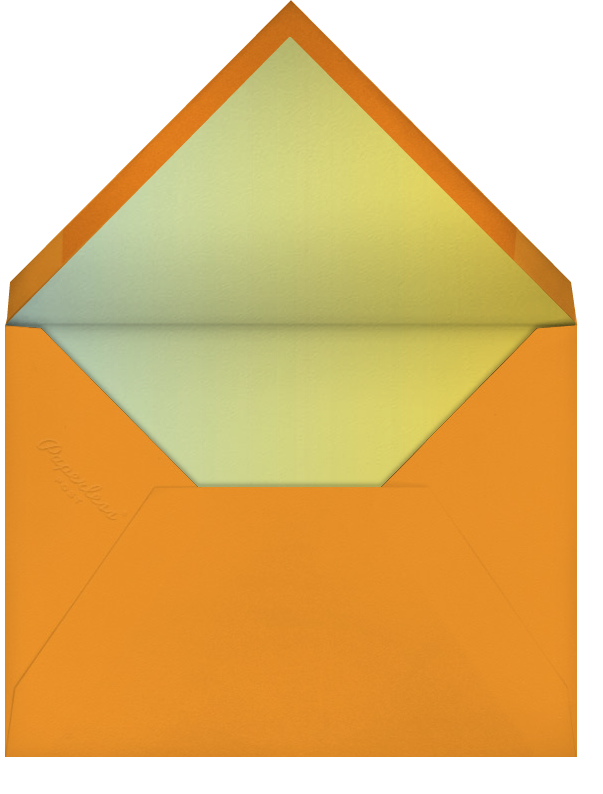 Thanksgiving Essentials - Paperless Post - Thanksgiving - envelope back