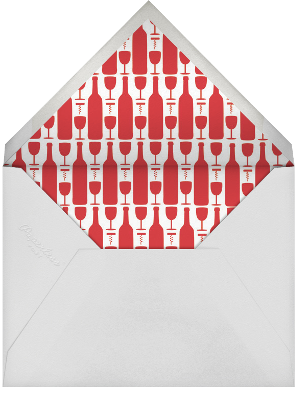 Ginful and Triumphant - Paperless Post - Happy hour - envelope back