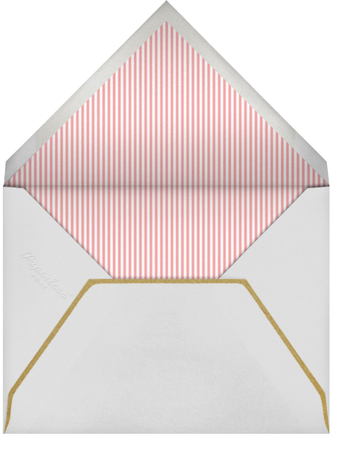 Four Fine Flowers - Little Cube - Birth - envelope back