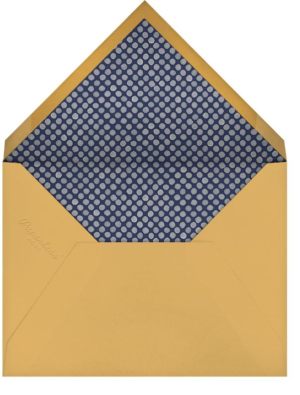 Stencilled Celebration - White - Paperless Post - Envelope