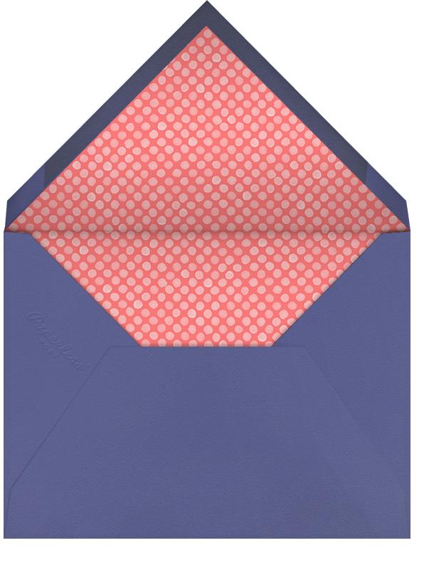 Stencilled Celebration - Black - Paperless Post - Envelope