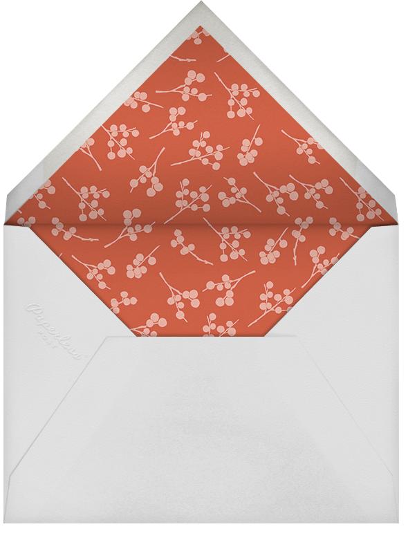Ribbon of Holiday Joy - Paperless Post - Envelope