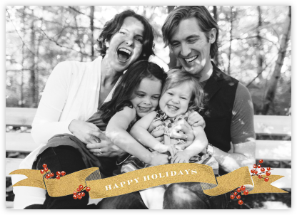Ribbon of Holiday Joy - Paperless Post - Holiday cards