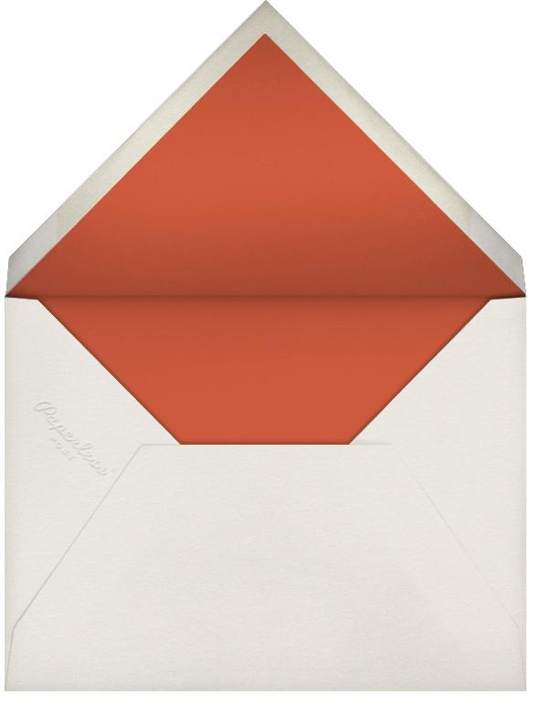 Partridge and Pear - Blood Orange - Paperless Post - Envelope