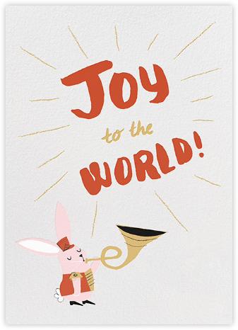Harmonizer Bunny - Paperless Post - Holiday Cards