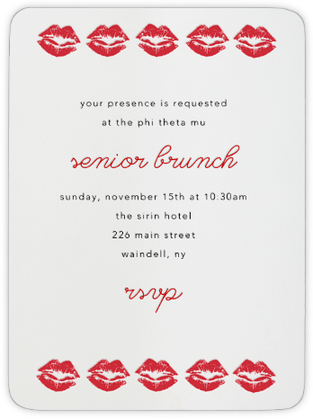 Bessos - Paperless Post - Sorority Event Invitations