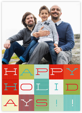 Wrapped in Plaid (Photo) - Paperless Post - Holiday cards