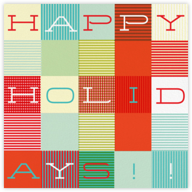 Wrapped in Plaid - Paperless Post - Holiday Cards