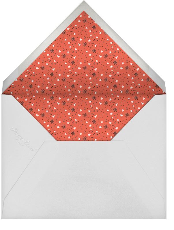 Holly Jolly Invitation - Hello!Lucky - Christmas party - envelope back