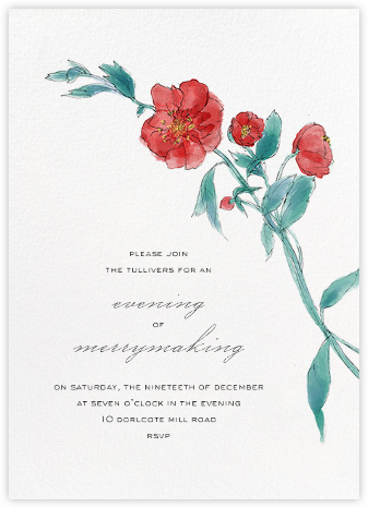 Ikebana (Invitation) - Paperless Post -