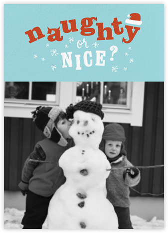 Santa's Little Question (Photo) - Paperless Post -