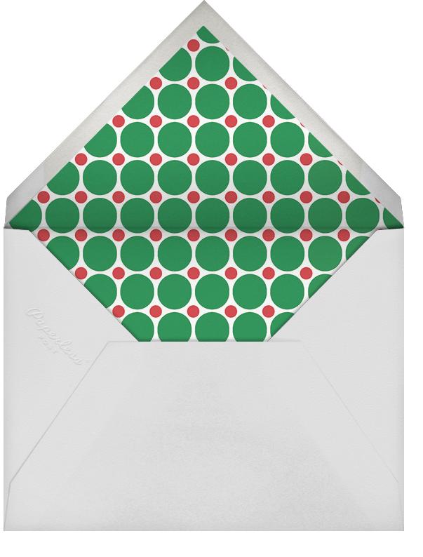 Merry Marquee (Multi-Photo) - Jonathan Adler - Christmas - envelope back