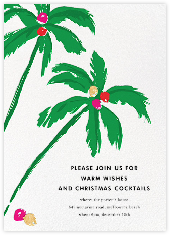 Warm Wishes - kate spade new york - Pool Party Invitations