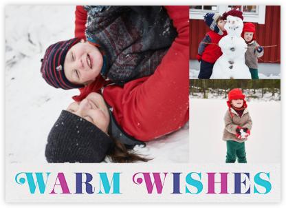 Retro Wishes (Multi-Photo) - White - Jonathan Adler -