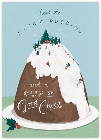 Mount Pudding (Greeting) - Paperless Post - Funny Christmas eCards