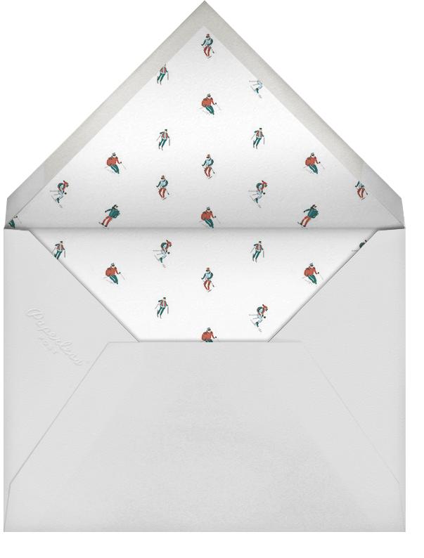 Mount Pudding (Greeting) - Paperless Post - Christmas - envelope back