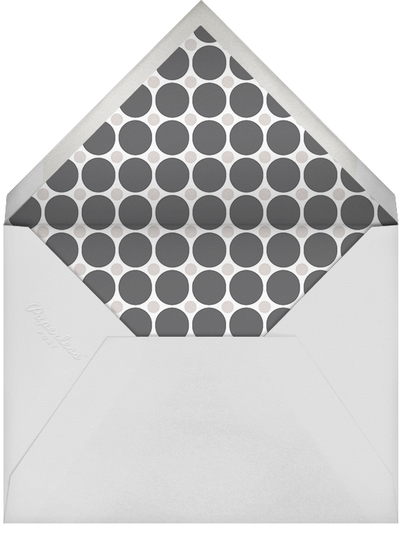 Bright Marquee (Multi-Photo) - Gray - Jonathan Adler - Holiday cards - envelope back
