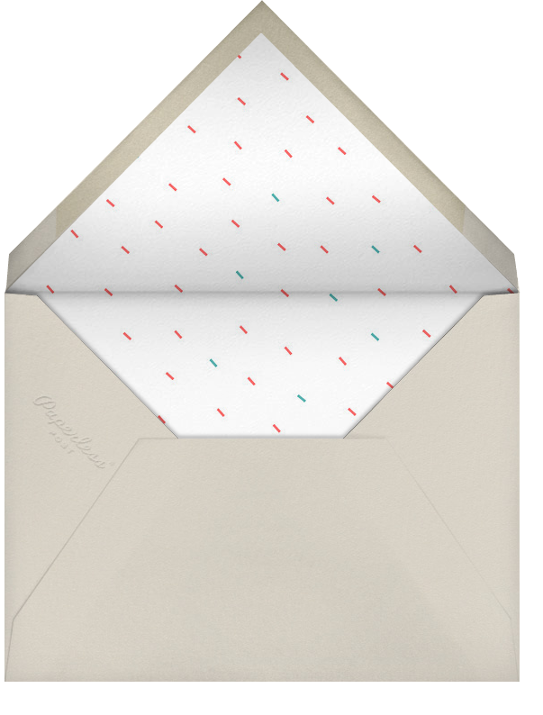 Party Animals - Coral Persian - Paperless Post - Envelope