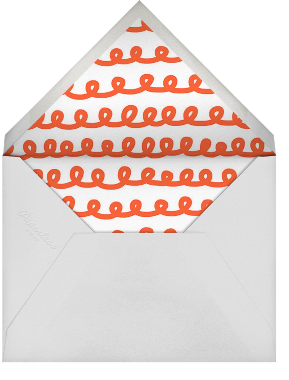 Ho Ho Ho Photo - The Indigo Bunting - Christmas - envelope back