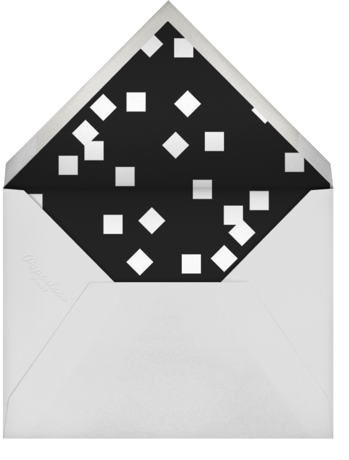 Placard - Gold - Paperless Post - Envelope