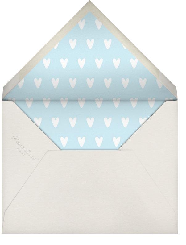 Cornerstone - Yellow - Paperless Post - Birth - envelope back