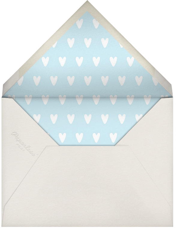 Cornerstone - Meringue - Paperless Post - Birth - envelope back