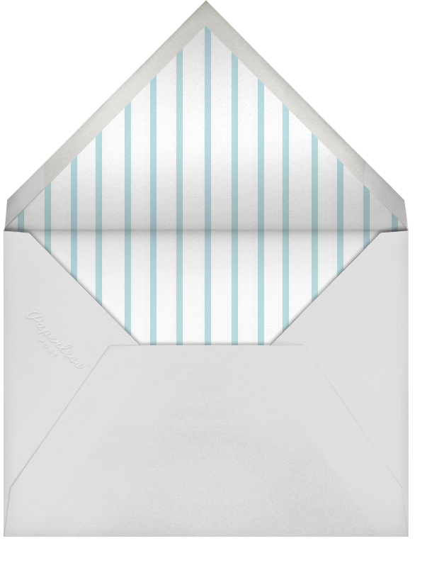 Streamer Shapes (Photo) - Pastel - Paperless Post - Birth - envelope back