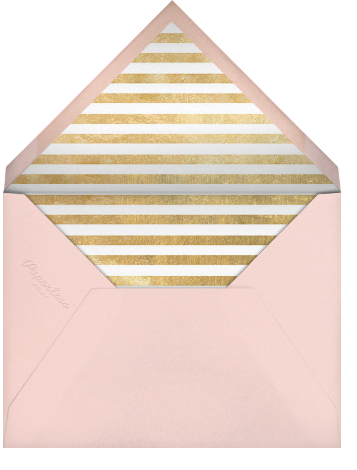 Typographic II (Save the Date) - Meringue - kate spade new york - Save the date - envelope back
