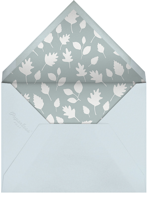 Foxy's Forest Party (Photo) - Little Cube - Birth - envelope back