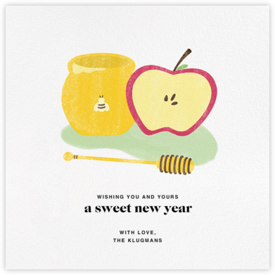 Sweet New Year (Greeting) - Paperless Post - Rosh Hashanah Cards