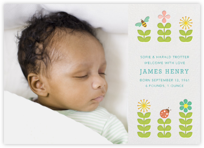 Birth announcements online at Paperless Post – Electronic Baby Announcements