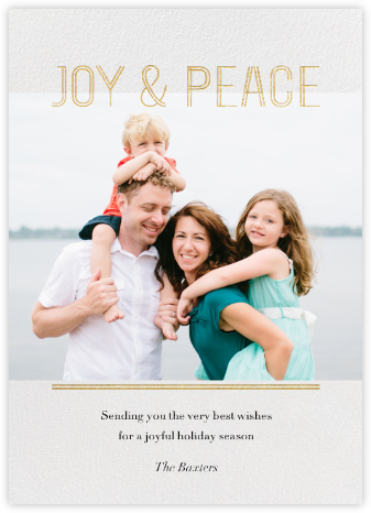 Doubleline Joy  - Paperless Post -