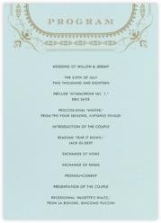 A Regal Wedding (Program)
