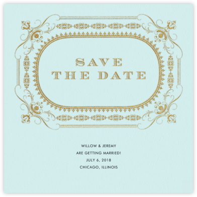 A Regal Wedding (Save the Date) - Paper + Cup -