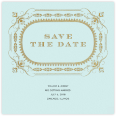 A Regal Wedding (Save the Date)