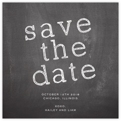 We Do (Save the Date) - Paper + Cup - Paper + Cup