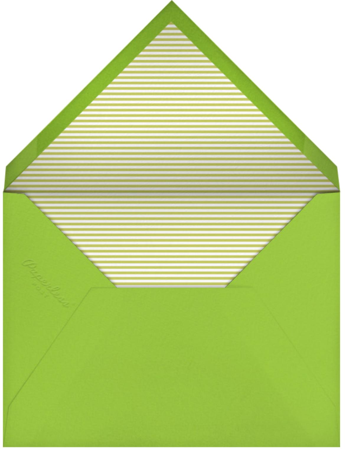 München Munchies - Paperless Post - Autumn entertaining - envelope back
