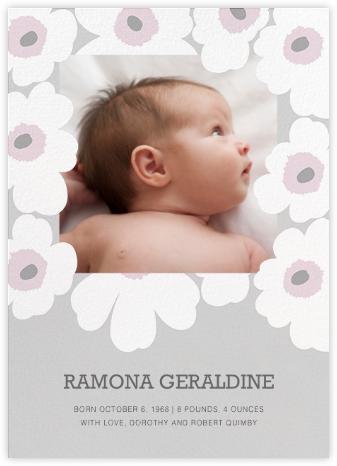 Unikko (Photo) - Gray - Marimekko - Marimekko cards and stationery