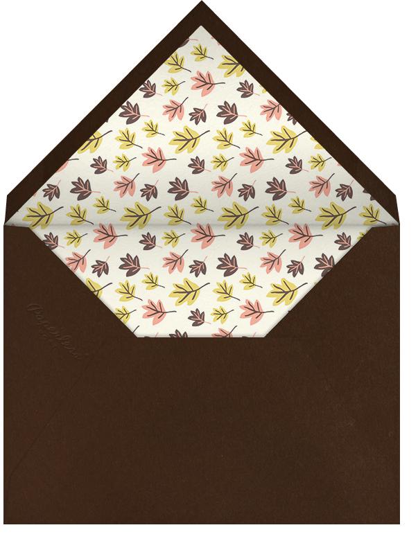 Cornucopia - Hello!Lucky - Thanksgiving - envelope back