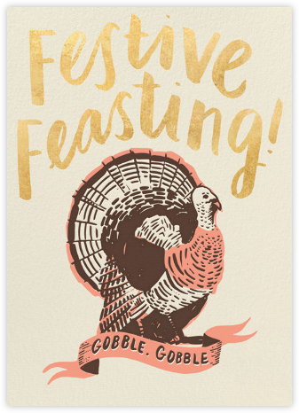 Festive Feasting - Hello!Lucky - Thanksgiving Cards