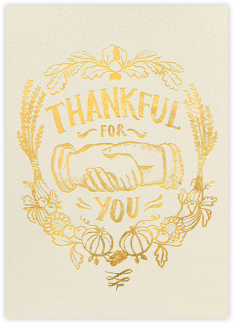 Thankful Shake - Hello!Lucky - Thanksgiving Cards