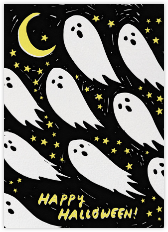 Ghostly Greetings - Hello!Lucky - Halloween cards