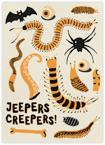 Jeepers Creepers (Greeting) - Hello!Lucky - Halloween cards