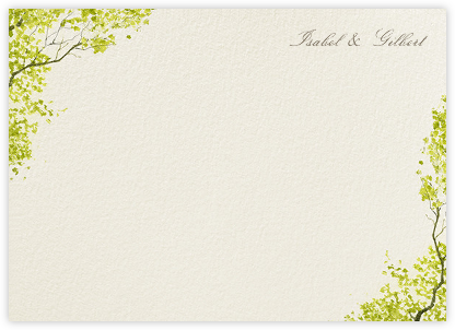Spring Orchard (Stationery) - Felix Doolittle - Personalized Stationery