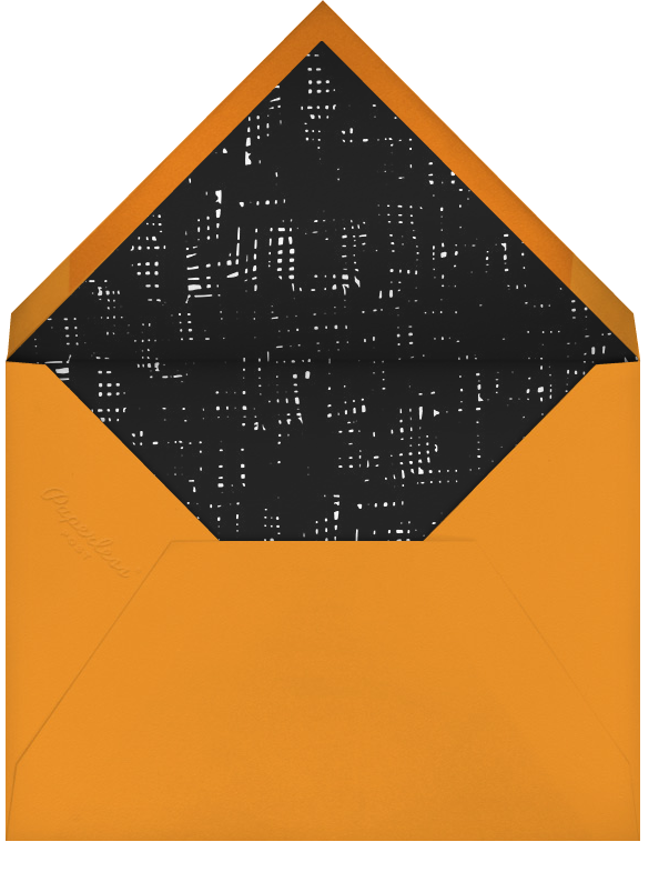 Psychedelic Skull - Hello!Lucky - Halloween - envelope back